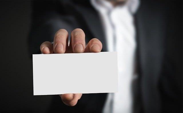 דוגמאות לכרטיסי ביקור ליועצי משכנתאות